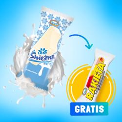 Promocja konsumencka: Lody Śnieżne na patyku