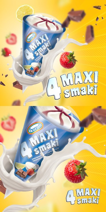 Rożek 4 Maxi smaki