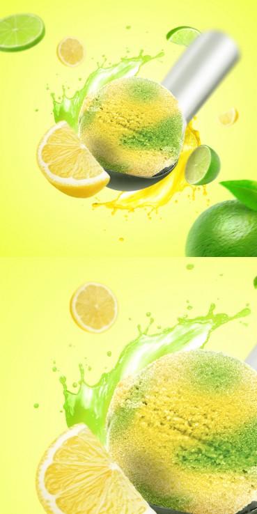 Sorbet kwaśna lemoniada