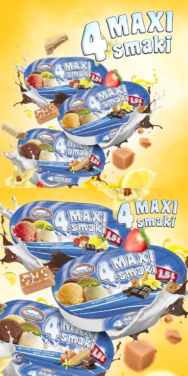 4 Maxi smaki